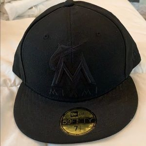 New Era 59fifty Marlins Fitted Hat